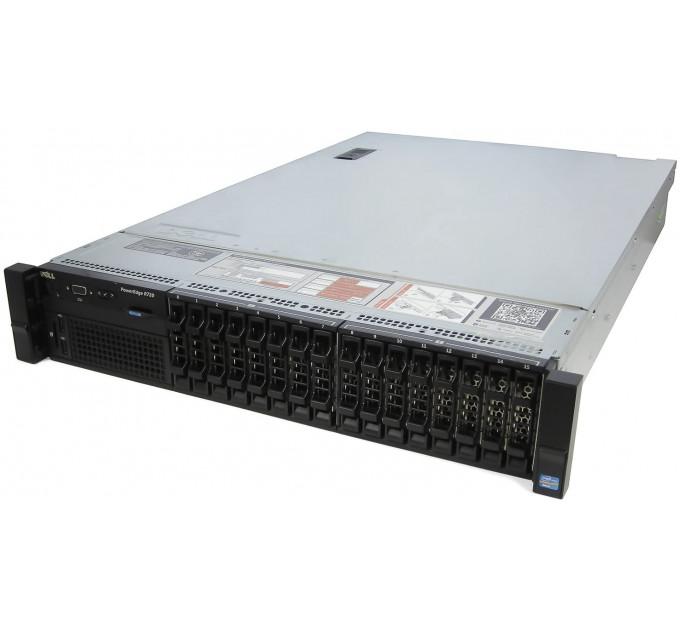 Сервер Dell PowerEdge R720 16SFF конфигуратор